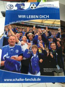 Fanclub Buch - Wir leben Dich
